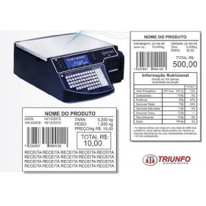 Balança digital com impressora