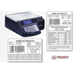 Balança digital com impressora preço